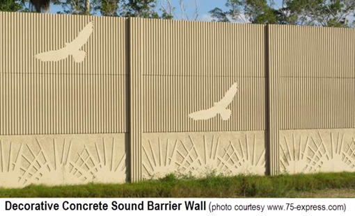 Decorative Sound Walls : Using your mn landscape features to block out the noise