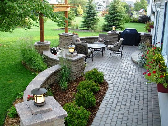 Add A Finished Look To Your Landscape With Concrete (Yes, Concrete) Pavers