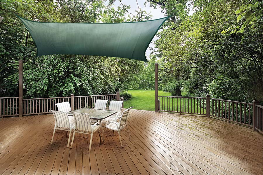 Sail-Canopy Backyard ... & Backyard Canopies: What to Consider When Purchasing